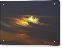 Sun Dog Acrylic Print by Pekka Parviainen/science Photo Library