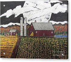 Sun Flower Farm Acrylic Print