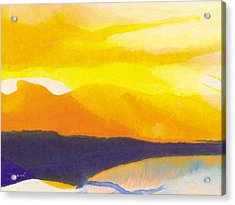 Acrylic Print featuring the painting Sun Glazed by The Art of Marsha Charlebois