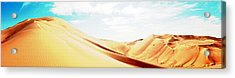 Sun In The Sands Acrylic Print by Peter Waters