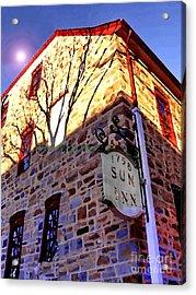 Sun Inn Bethlehem Pa Acrylic Print