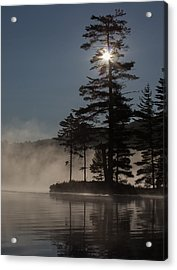 Sun Is Up At The Lake Acrylic Print