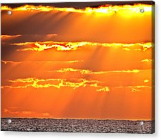 Sun Is Up Acrylic Print by Dennis Dugan