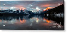 Acrylic Print featuring the photograph Sun Kissed 2  Pano Crop by Katie LaSalle-Lowery