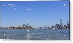 Sun-kissed Manhattan Acrylic Print by Suzanne Perry