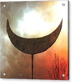 Sun Moon Stars  Acrylic Print by Mark M  Mellon