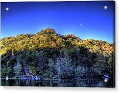 Sun On Autumn Trees Acrylic Print by Jonny D