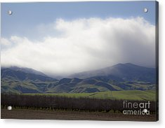Sun On The South Tehachipis Acrylic Print by Rich Collins