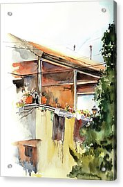 Sun Porch Acrylic Print by Sophia Rodionov