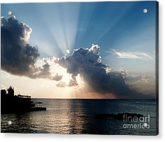 Sun Rays Acrylic Print by Amar Sheow