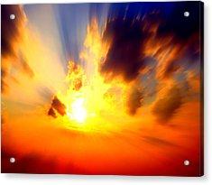 Sun Rays Acrylic Print by Jose Lopez