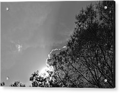 Sun Rays Acrylic Print by Thomas  MacPherson Jr
