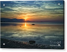 Sun Reflection Acrylic Print