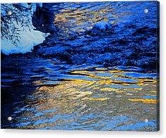 Sun Reflection Acrylic Print by Silke Brubaker