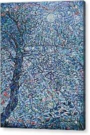 Lake Of Silver  Acrylic Print