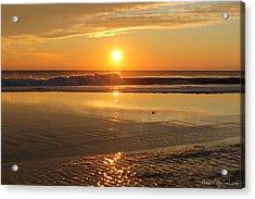 Sun Ripples Acrylic Print