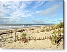 Sun Sand Sea Acrylic Print