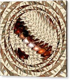 Sun Sand Shadows Acrylic Print by Anastasiya Malakhova