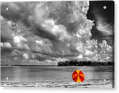 Sun Shade Acrylic Print by HH Photography of Florida