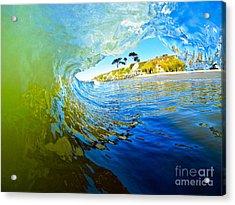 Acrylic Print featuring the photograph Sun Shade by Paul Topp