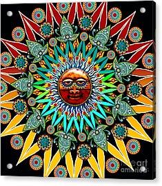 Sun Shaman Acrylic Print
