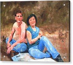 Sun Shulan Acrylic Print by Sharon Burger