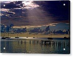 Acrylic Print featuring the photograph Sun Sneaking In by Ricardo J Ruiz de Porras