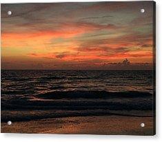 Sun Streak Sky Acrylic Print