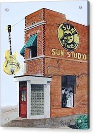 Sun Studio Acrylic Print