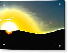 Sun Acrylic Print by Teresa Dixon