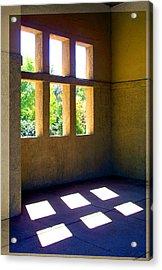 Sun Thru Windows Adobe Architecture Acrylic Print