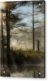 Sun Up At Lowell Lake 2 Acrylic Print