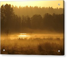 Sun Up At The Refuge Acrylic Print