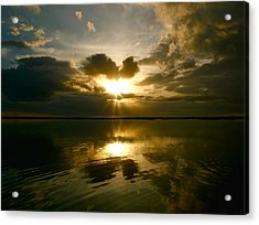 Acrylic Print featuring the photograph Sun Up  by Paul Foutz