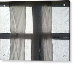 Sun Up Through Luke's Curtains Acrylic Print by Anna Villarreal Garbis