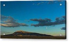 Sun Vs Moon Acrylic Print