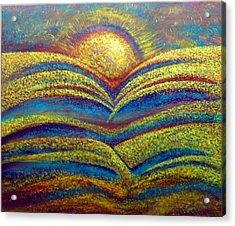Sun Water Table Acrylic Print by Jeffrey Bunce