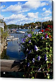 Sunapee Harbor 1 Acrylic Print by Will Boutin Photos