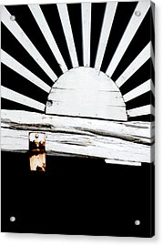 Sunbeam Wood Acrylic Print by Isabelle Mbore