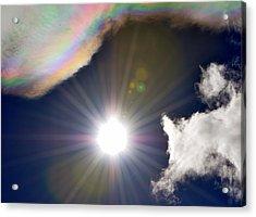 Sunbeams Acrylic Print by Heather L Wright
