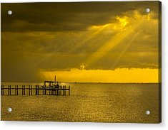 Sunbeams Of Hope Acrylic Print