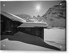 Acrylic Print featuring the photograph Sunburst by Antonio Jorge Nunes