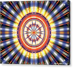 Sunburst Acrylic Print by Brian Johnson