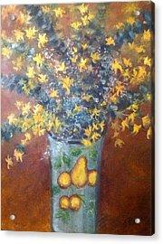 Sunburst Floral Acrylic Print