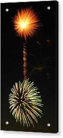 Sunburst Acrylic Print by Optical Playground By MP Ray