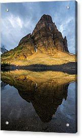Sunburst Peak Reflected In Sunburst Acrylic Print