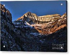 Sundance Aspen-first Light V5 Acrylic Print by Douglas Barnard