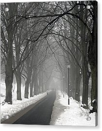 Sunday Afternoon Winter Acrylic Print