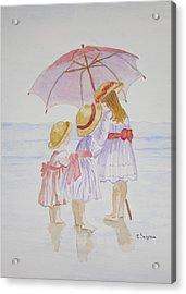 Sunday Best At The Beach Acrylic Print