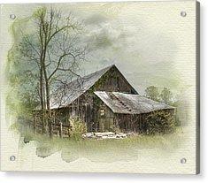 Sunday Drive Barn Acrylic Print
